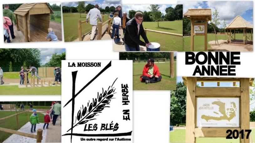 Bonne Année du Jardin Jean Métellus ! Merci Les Blés en herbe !