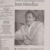 Jean Métellus Le monde